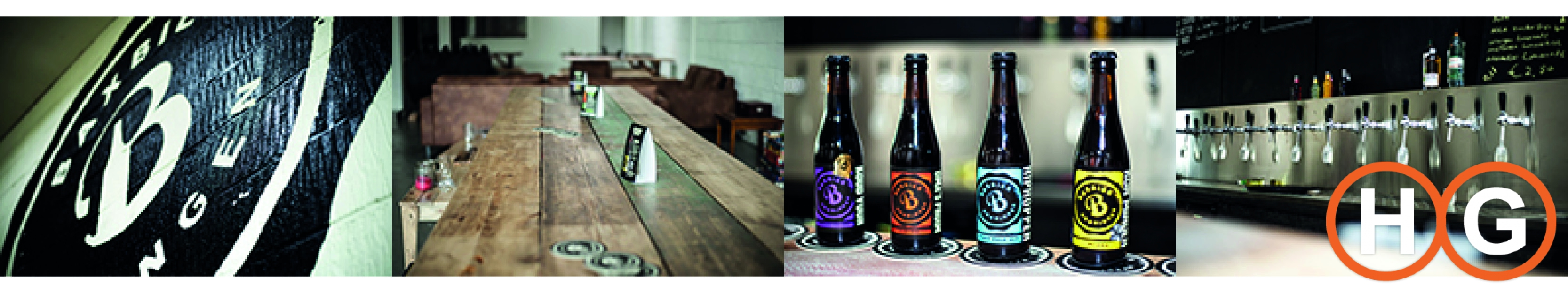 Bax bier proeflokaal brouwerij collage