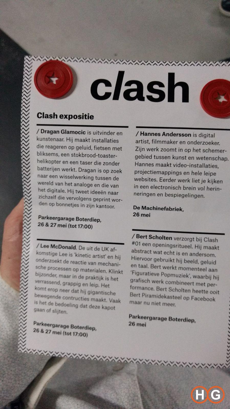 Clash expositie