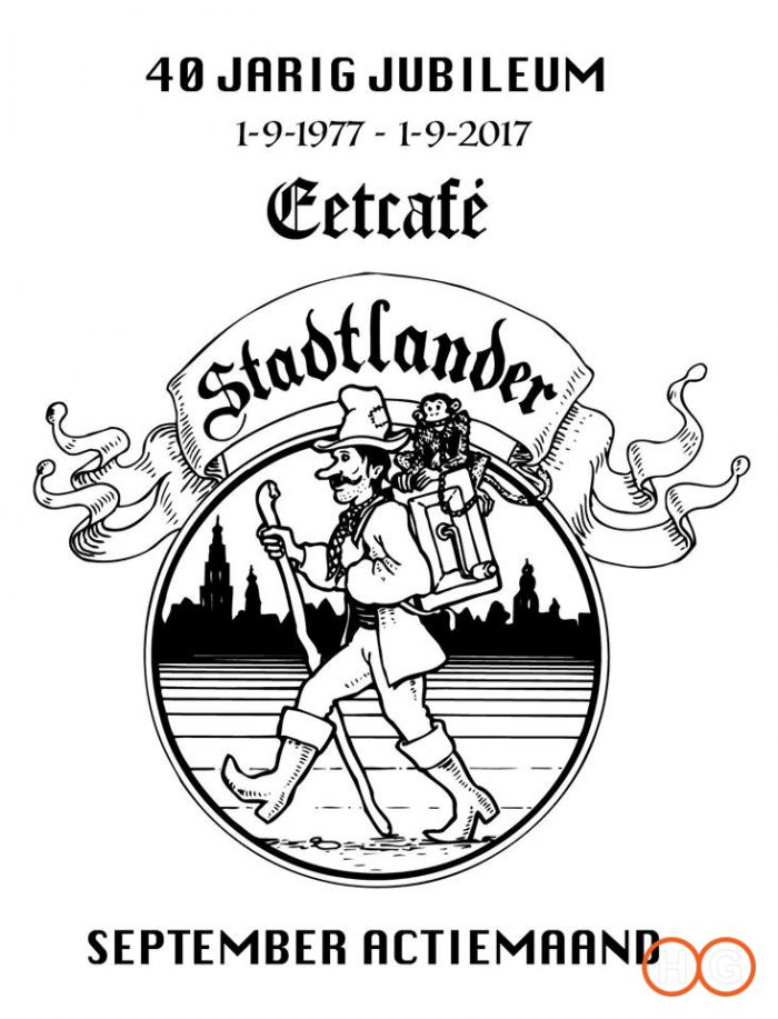 40 JARIG JUBILEUM EETCAFE STADTLANDER