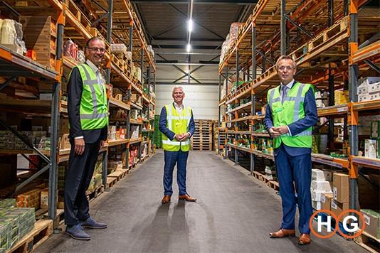 Bezoek Rene Paas bij Bidfood Groningen